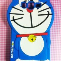 Samsung Grand Duos Silicon 3D kartun Doraemon #1 Softcase Casing Hp