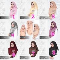 Jual Jilbab instan 2 faces Tazkia Pad by Dqiara hijab Murah