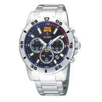 Jam Tangan ALBA AT3161 Chronograph Barcelona Barca ORIGINAL