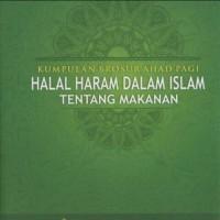 Kumpulan Brosur Halal dan Haram dalam Islam (Tentang Makanan)