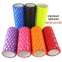 Jual Foam Roller /Fitness / Gym / Senam / Aerobic / Yoga Roller Orange Murah