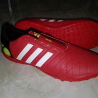 sepatu futsal adidas 11 pro merah gerigi include box