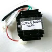 186F kiprok cash / voltage regulator w/fuses genset silent 5kva/7kva
