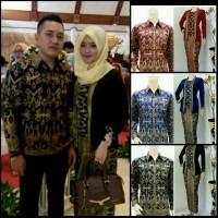 Jual Batik couple denada lengan panjang/ batik sarimbit Murah