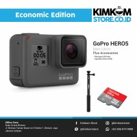 [Paket Ekonomis] GoPro HERO5 Action Camera <> Video Kamera HERO 5