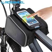 Roswheel Tas Sepeda Bike Waterproof Bag with Smartphone Bag - Black