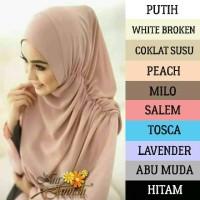 Kerudung Hijab Jilbab Instan  Atasan Wanita Jilbab  Hijab Nur Janah
