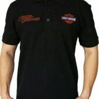 harga Kaos Polo Shirt/baju/kaos Kerah Harley Davidson Tokopedia.com