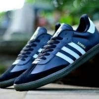 Free Bonus !!! Sepatu Murah Casual Adidas Samba Terbaik (Black)