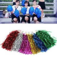 pompom cheerleader rumbai foil