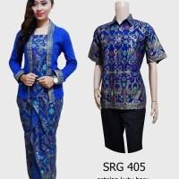 Couple batik sarimbit kebaya pesta baju pasangan seragam 405