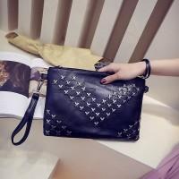 tas hitam stud slempang fashion perempuan cewek bagus kualitas oke hnm
