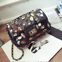 tas bahu jinjing shoulder bag ukuran medium bagus branded berkualitas