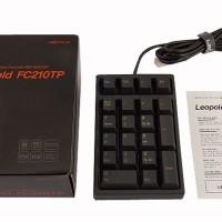 Numpad Leopold FC210TP/NB Black PBT Key (Brown Cherry MX)