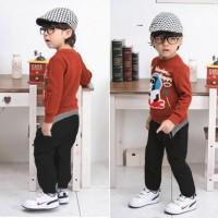 Okechuku Ken'z Kid's Jogger Pants / Celana Joger Anak Size 3/4 Basic