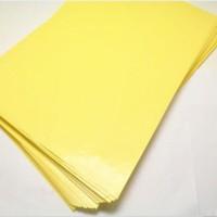 kertas pcb kuning heat transfer paper pcb toner laser
