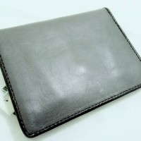 Fossil Garret International Combi Dompet Kulit Pria - Grey