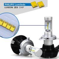 Lampu LED Mobil Philips Lumileds ZES H4 Hi-Lo 25W 4000 Lumens Garansi