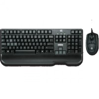 Logitech Gaming Mouse and Keyboard Combo G100s (Garansi Resmi) - Black