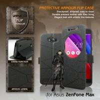 Asus Zenfone Max Window Leather Flip Case Casing Bumper Dompet Armor