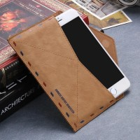Iphone 4/4G/4S/5/5G/5S/5C envelope Vintage Retro case Wallet Leather