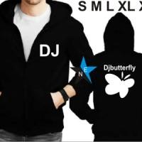 Jaket Sweater DJ Butterfly