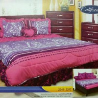 BED COVER SET CALIFORNIA KING 180X200 VELIA/BEDCOVER SET/BADCOVER
