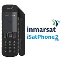 Telepon Satelit Inmarsat Isatphone 2 plus pulsa 100 unit