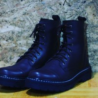Sepatu Boots Ket's Black Air For Safety