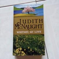 NOVEL WHITNEY, MY LOVE KARYA Judith Mcnaught (English)