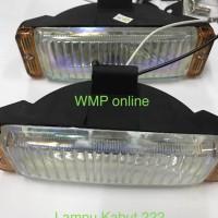 Harga lampu kabut 222 set tembak foglamp sorot motor | Hargalu.com