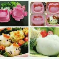 Jual Cetakan Nasi Telur kity Rice Egg Mold Bento Tools Hello kitty Hk helo Murah