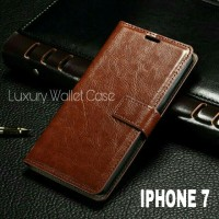 Luxury Wallet Case For Iphone 7 / Flip Cover Leather Case For Iphone 7