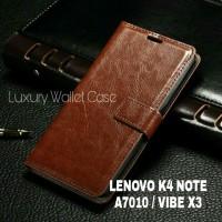 Luxury Wallet Case For Lenovo K4 Note / Lenovo A7010 / Lenovo Vibe K3