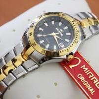 jam tangan rantai pria wanita casual original anti air mirage gucci