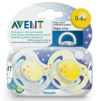 empeng avent night time isi 2pc