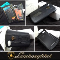 LAMBORGHINI AVENTADOR D2 BACK COVER CARBON Blackberry Q10 BLACK