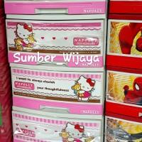 Jual Lemari Laci Plastik Napolly - Hello Kitty 5000 HK Murah
