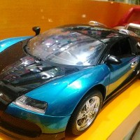 Mobil Remote Control (R/C) Top Speed 1:18 Bugatti