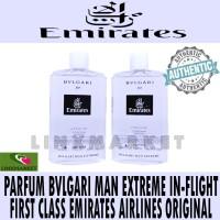 PARFUM BVLGARI MAN EXTREME IN-FLIGHT USE EMIRATES AIRLINES ORIGINAL