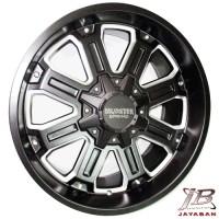 harga Velg racing ring 20 inch Mudster + Ban mobil 33/12.5/20 Achilles XMT Tokopedia.com