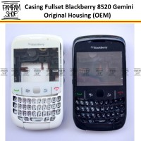 Casing / Kesing Fullset / Full Set Blackberry / BB Gemini Curve 8520