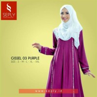 Gamis Seply Gissel 03 Purple SML