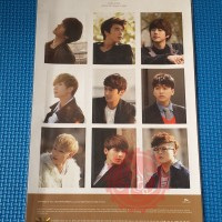 SALE Super Junior Official Sticker Boys In City Season 4 Paris