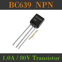 Transistor BC639 NPN 1A 80V Multifunction Power Transistor