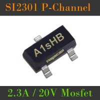 SI2301 S12301 A1sHB Mosfet P-Channel 2.3A 20V SMD SOT-23 FET