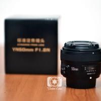 Lensa Fix Yongnuo 50mm F1.8 dengan Auto Focus untuk DSLR Nikon