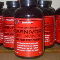 MUSCLEMEDS BEEF AMINO CARNIVOR AMINO BEEF 300 TABS