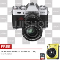 harga Fujifilm X-T10 Kit XF 18-55mm - Silver Tokopedia.com