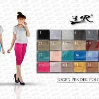 Celana Joger Pendek Katun Stretch Ready Size M L XL XXL XXXL